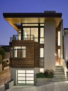 Small modern home exterior design ideas #377 - Catch Ideas!
