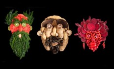 Fresh Faces Made From Organic Food by Emily Dryden & Zahydé Pietri