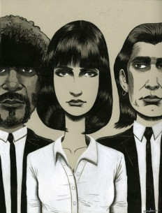 pulp fiction art - Google Search