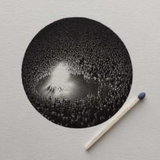 Miniature Pencil Drawings by Mateo Pizarro