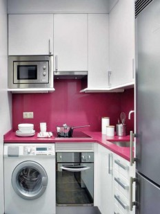 Decorating small kitchens for apartment photo #38 - Catch Ideas!