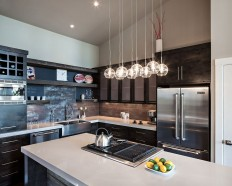 Kitchen lighting with nice small pendant chandelier - Catch Ideas!