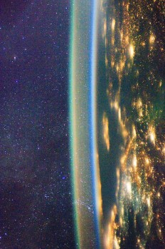 Airglow over Earth | astral body | Pinterest