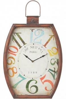 Colorful Numbers Wall Clock - Wall Clock - Analog Clock - Unique Wall Clocks | HomeDecorators.com