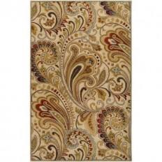Artistic Weavers Brescia Ivory 8 ft. x 11 ft. Area Rug-Brescia-811 - The Home Depot