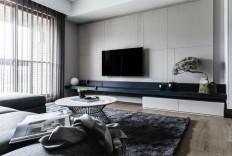 Contemporary Apartment Located in Taipei - InteriorZine