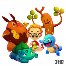ArtStation - Team Pokemon, João Henrique Pachêco