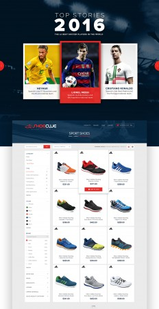 ShoeClue- ECommerce Website Design Case Study on