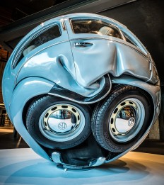 Artist Makes Spherical and Cube Volkswagen Beetles | InsideHook