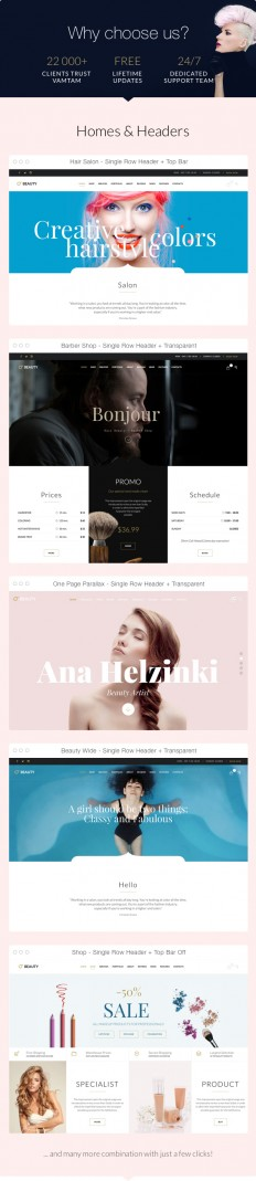 Hair & Beauty Salon Theme for Hair and Beauty Industry (Health & Beauty) - Effective Guides for Digital Marketing / Internet Marketing / SEO Campaign