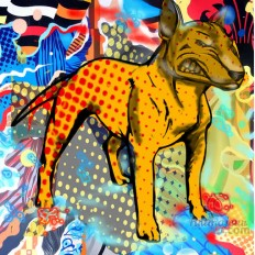 Bull Terrier A Limited Edition Giclee Art Print (JB Studio)