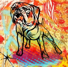 French Bulldog A Limited Edition Giclee Art Print (JB Studio)