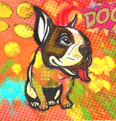 """Pop Art Dog ""A Limited Edition Giclee Art Print (JB Studio)"