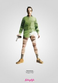 Inspiration / free Breaking Bad A3 poster download here http://www.lickmystyle.com/free/