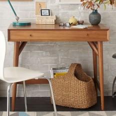 Mid-Century Mini Desk – Acorn | west elm