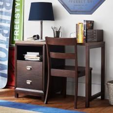 Rowan 2-Drawer Single Pedestal Desk | PBteen