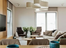 Apartment Decor in Pastel Color Palette by Interno - InteriorZine