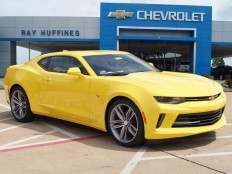 New 2016 Bright Yellow Chevrolet Camaro 2dr Cpe 1LT For Sale in Plano, TX | 1G1FB1RS6G0165598
