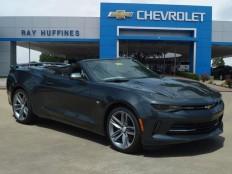 New 2016 Nightfall Gray Metallic Chevrolet Camaro 2dr Conv 1LT For Sale in Plano, TX | 1G1FB3DS3G0172771