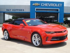 New 2016 Red Hot Chevrolet Camaro 2dr Conv 2LT For Sale in Plano, TX | 1G1FD3DS4G0161773