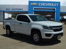 New 2016 Summit White Chevrolet Colorado Extended Cab Long Box 2-Wheel Drive WT For Sale in Plano, TX | 1GCHSBEA6G1317974