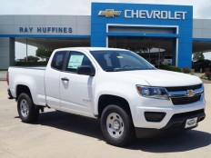 New 2016 Summit White Chevrolet Colorado Extended Cab Long Box 2-Wheel Drive WT For Sale in Plano, TX | 1GCHSBEA9G1341380