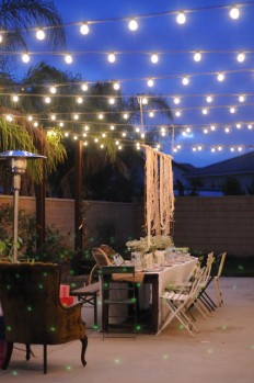 HOUZZ Holiday Contest: A Pretty Backyard DInner Party - Eclectic - Patio - los angeles