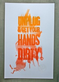 Typeverything.com Unplug Poster by Studio on... - Typeverything