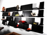 Sebastian Errazuriz : Piano Wall Shelf Unit