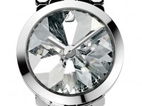 tokujin yoshioka: lake of shimmer - avant time watch no. 3 for swarovski