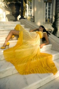 Piccsy :: yellow dress