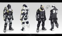 Mass Effect 3 Cerberus Soldiers by benbot - Benjamin Huen - CGHUB