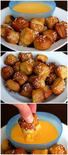 Homemade Soft Pretzel Bites Recipe | Buzz Inspired