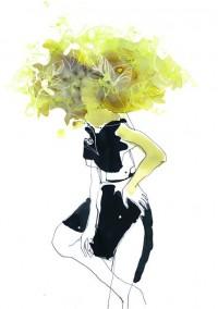 Toril Baekmark Illustration | Fashion Glamour, Food Drink Consumption, Hand Lettering Font Design | Denmark