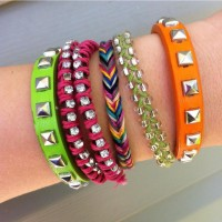 OH SO PRETTY the DIARIES: the DIY: FISHTAIL FRIENDSHIP (BRACELET)