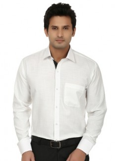 Fizzaro Men's Cotton Formal Shirt - Set Of 3 from Fizzaro   Formal Shirts   clothing-store   HomeShop18.com