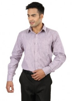 Jogur Men's Formal Shirt - Light Purple - JFS-403-10-Lt.Purple from Jogur   Formal Shirts   clothing-store   HomeShop18.com
