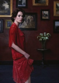 Photo:Idea:lighting, color & texture / Lena Headey