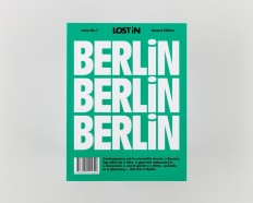 It's Nice That | Node Berlin Oslo on its typography-led design for LOST iN travel guides