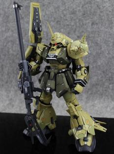 GUNDAM GUY: GK 1/100 RMS-108 Marasai Unicorn Color Ver. - Painted Build
