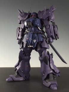 GUNDAM GUY: RE/100 Efreet Nacht - Customized Build