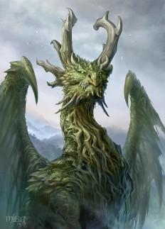 Forest Dragon by sandara on DeviantArt