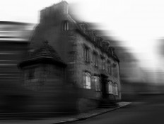 Expressionistic BW Architecture Photography by Neda Vent Fischer