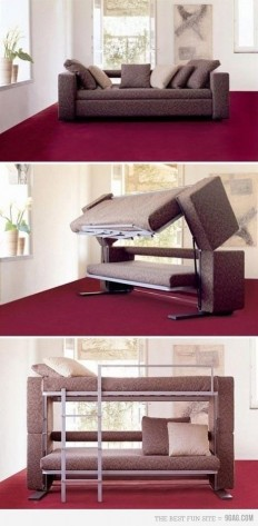 Amazing Couch/Bunk Bed.... $6840.00 and BonBon in the UK | MuchPics