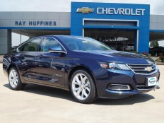 New 2017 Blue Velvet Metallic Chevrolet Impala 1LT For Sale in Plano, TX | 2G1105S30H9113546