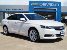 New 2017 Iridescent Pearl Tricoat Chevrolet Impala 1LT For Sale in Plano, TX | 2G1105S35H9114272
