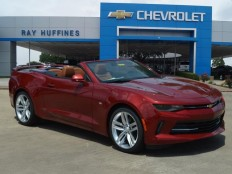New 2016 Garnet Red Tintcoat Chevrolet Camaro 2dr Conv 2LT For Sale in Plano, TX | 1G1FD3DS1G0179566