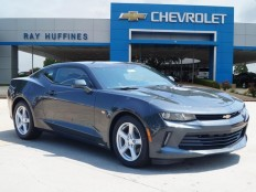 New 2017 Nightfall Gray Metallic Chevrolet Camaro 2dr Cpe 1LT For Sale in Plano, TX | 1G1FB1RX9H0107224
