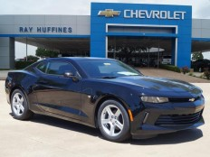 New 2017 Mosaic Black Metallic Chevrolet Camaro 2dr Cpe 1LT For Sale in Plano, TX | 1G1FB1RX2H0112183