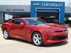 New 2017 Garnet Red Tintcoat Chevrolet Camaro 2dr Cpe 1LT For Sale in Plano, TX | 1G1FB1RX3H0105968